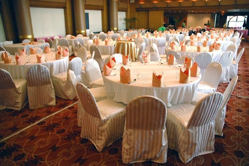 Banquete no hotel fotografia de stock