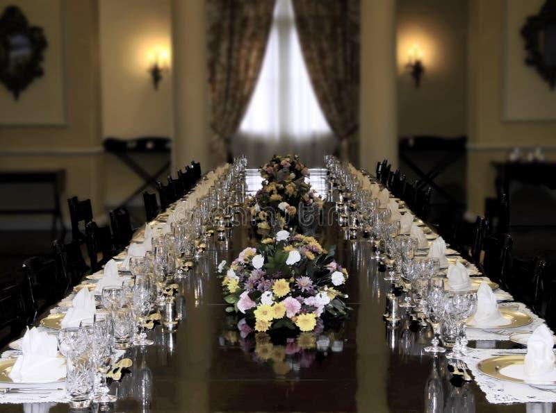 Banquete presidencial imagens de stock