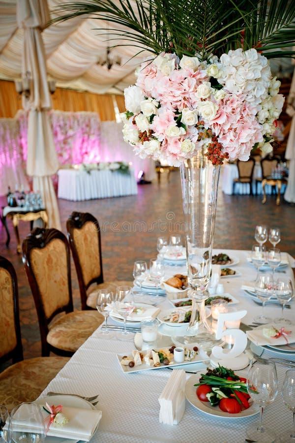 Banquete que se casa festivo imagen de archivo