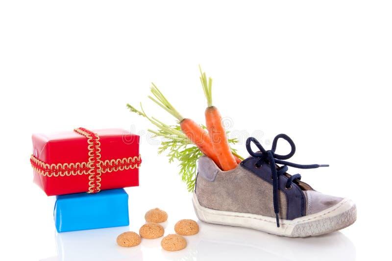 Banquete tradicional del holandés de Sinterklaas imagen de archivo libre de regalías