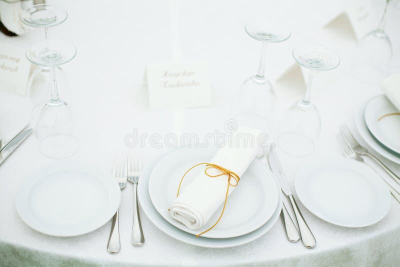 Banquete Wedding imagen de archivo