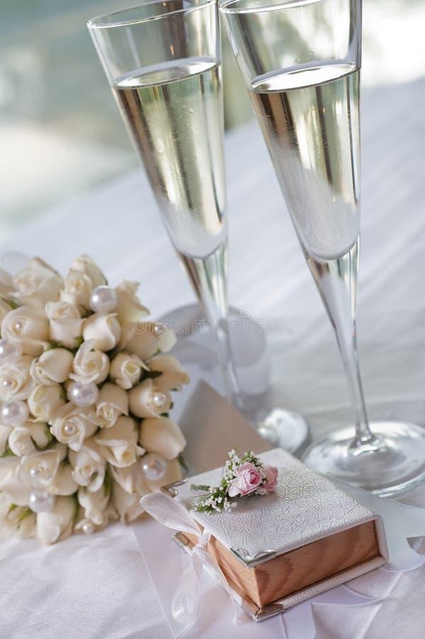 Banquete Wedding fotografia de stock royalty free