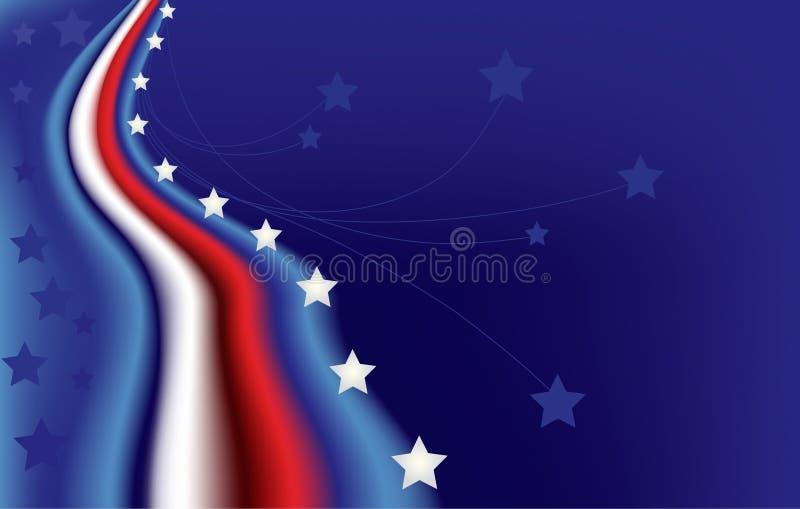 banret spangled stjärnan royaltyfri illustrationer