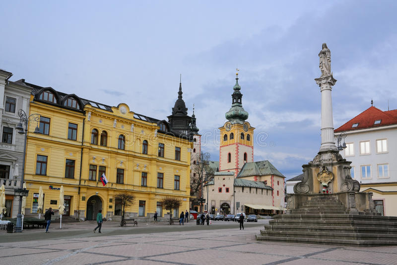 Banska Bystrica II royaltyfri foto