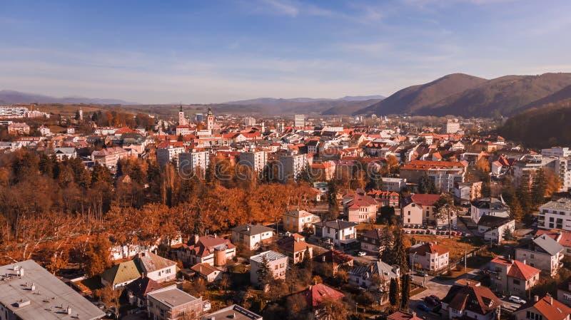 Banska Bystrica - Repubblica Slovacca fotografia stock libera da diritti