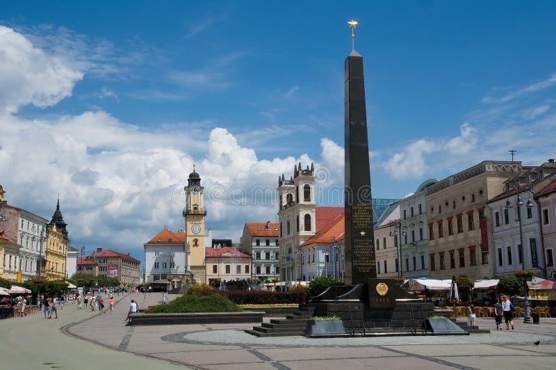 Banska Bystrica, Sistani fotografia stock