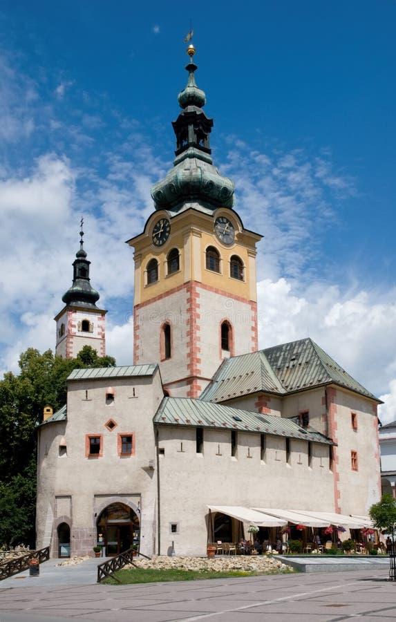 Banska Bystrica, Slowakei lizenzfreie stockfotos