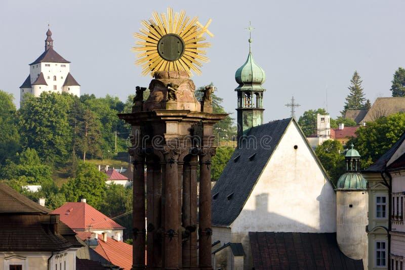 Banska Stiavnica, Slovaquie image libre de droits