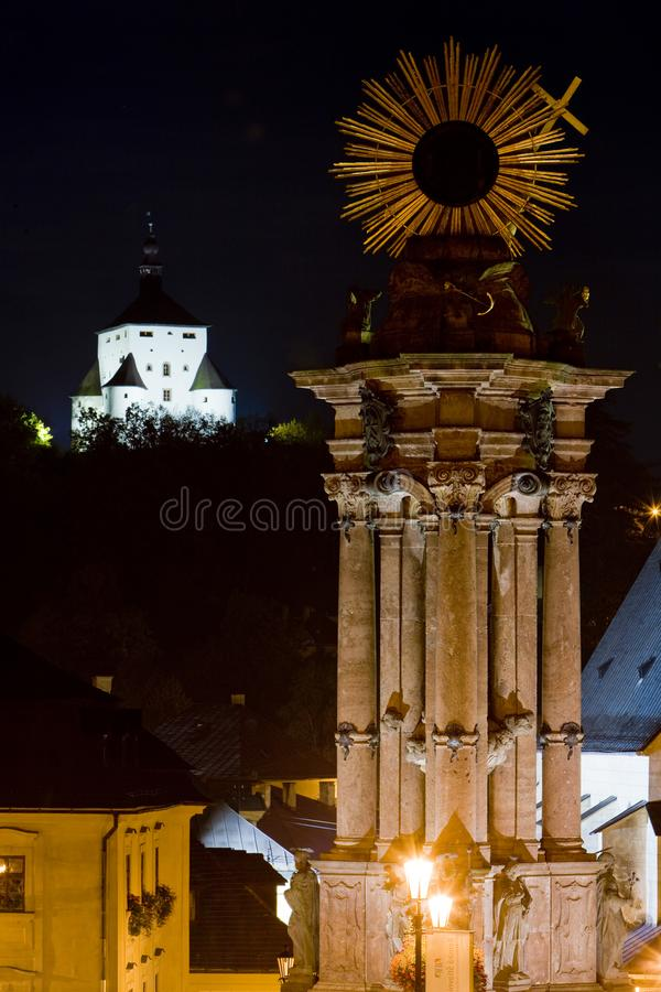 Banska Stiavnica, Slovaquie photo stock