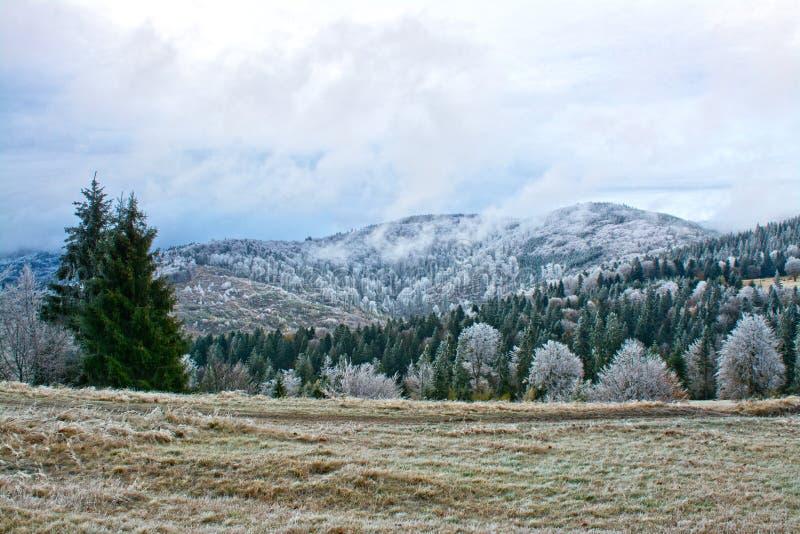 bansko Bulgaria krajobrazowa gór zima zdjęcie royalty free