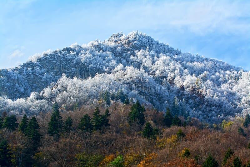 bansko Bulgaria krajobrazowa gór zima obrazy stock
