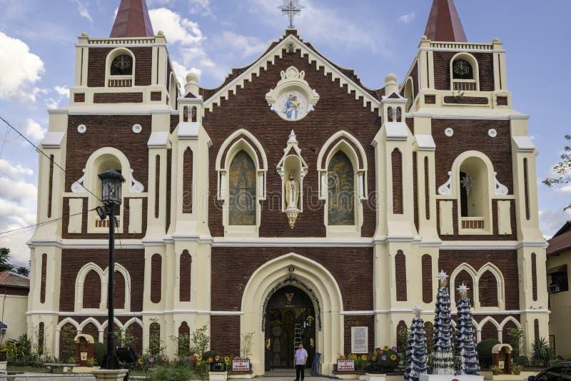 Bantay kościelny vigan historyczny miasteczko, dzień, niebieskie niebo, fotografia royalty free