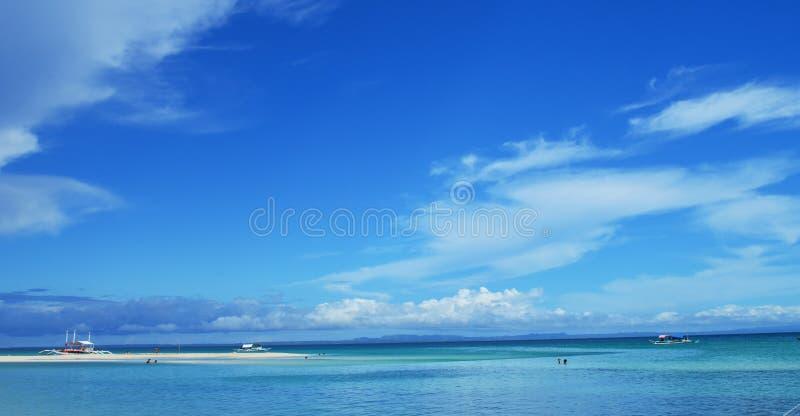 Bantayan Island, Cebu, Philippines. The shoreline of Bantayan Island, Cebu Philippines stock photos