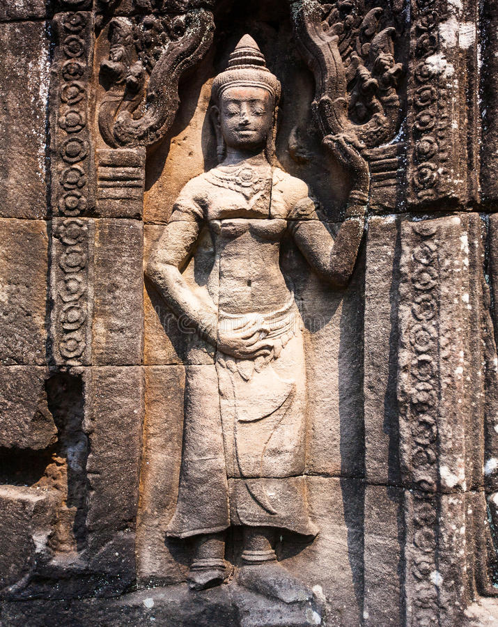 Free Banteay Kdei In Siem Reap ,Cambodia Stock Images - 38538584
