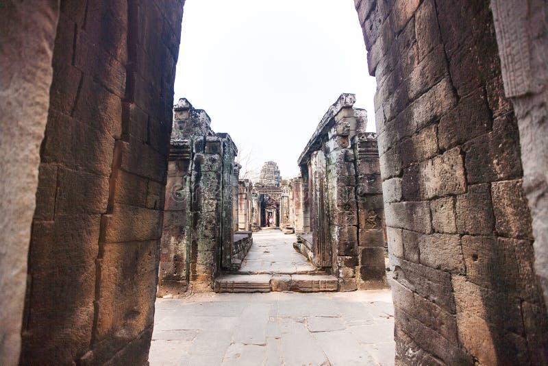 Banteay Kdei w Siem przeprowadza żniwa, Kambodża obrazy royalty free