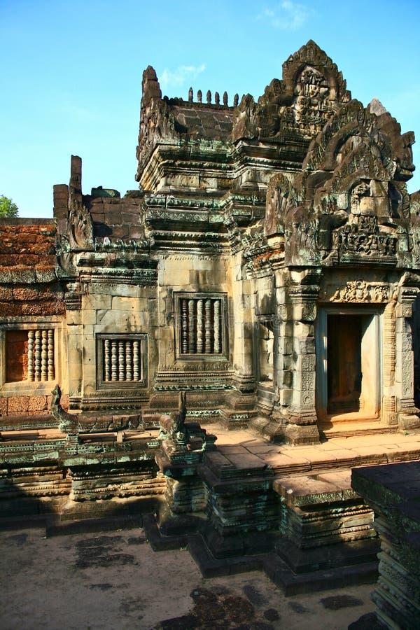 Banteay Samre, Angkor, Kambodja royalty-vrije stock foto