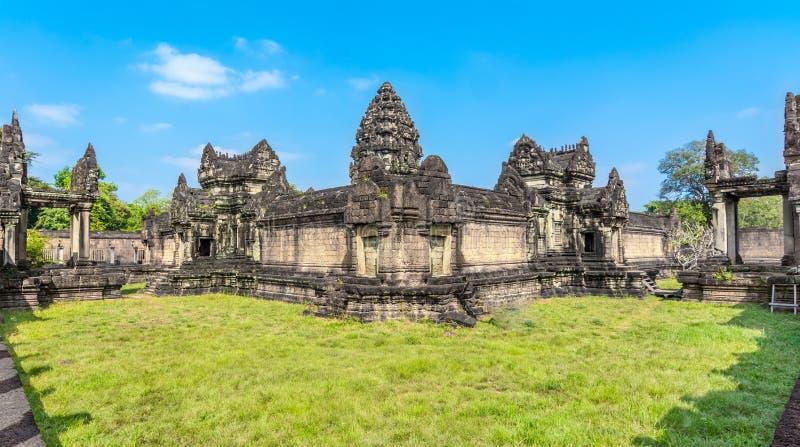Banteay Samre Angkor, Siem Przeprowadza żniwa - Kambodża obrazy stock