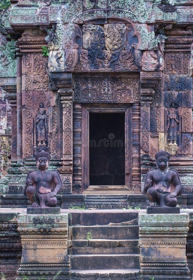 Banteay Srei świątynia w Kambodża zdjęcie stock