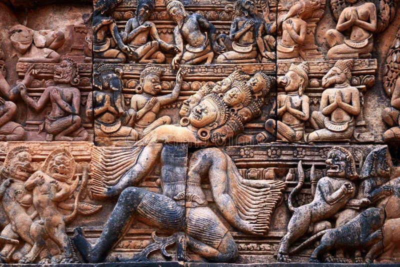 Banteay srei,Angkor stock photos