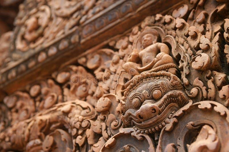 Banteay Srei or Banteay Srey stock photo