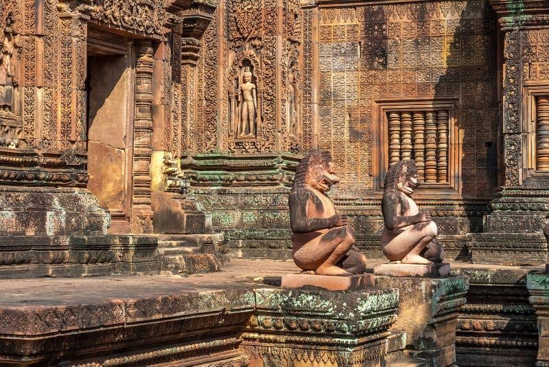 Banteay Srei dans Siem Reap photo libre de droits