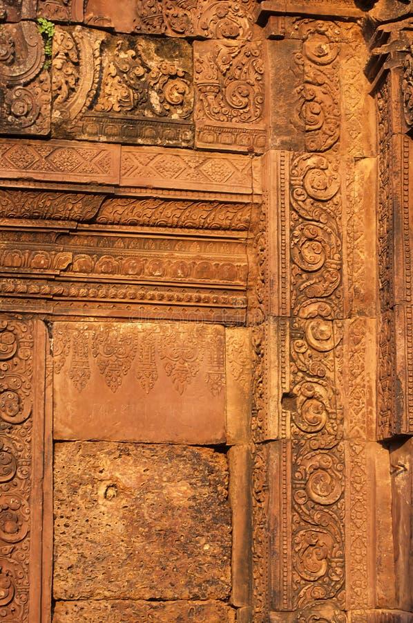 Download Banteay Srei Temple- Angkor Wat Ruins, Cambodia Stock Photo - Image: 10750088