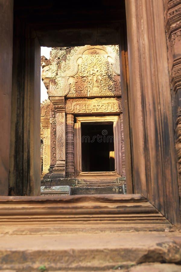 Download Banteay Srei Temple- Angkor Wat Ruins, Cambodia Royalty Free Stock Photos - Image: 10750178