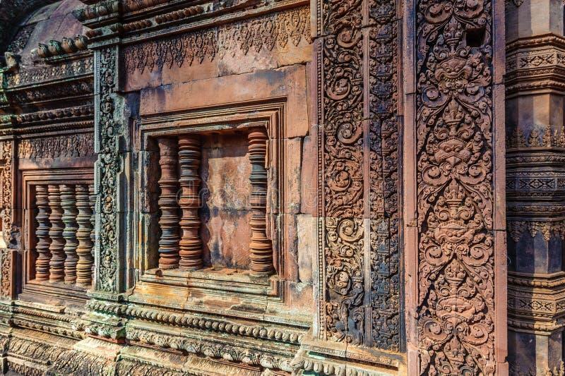 Banteay Srey fotografía de archivo libre de regalías