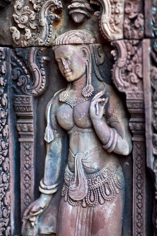 Free Banteay Srey Temple, Cambodia Royalty Free Stock Photo - 32573945