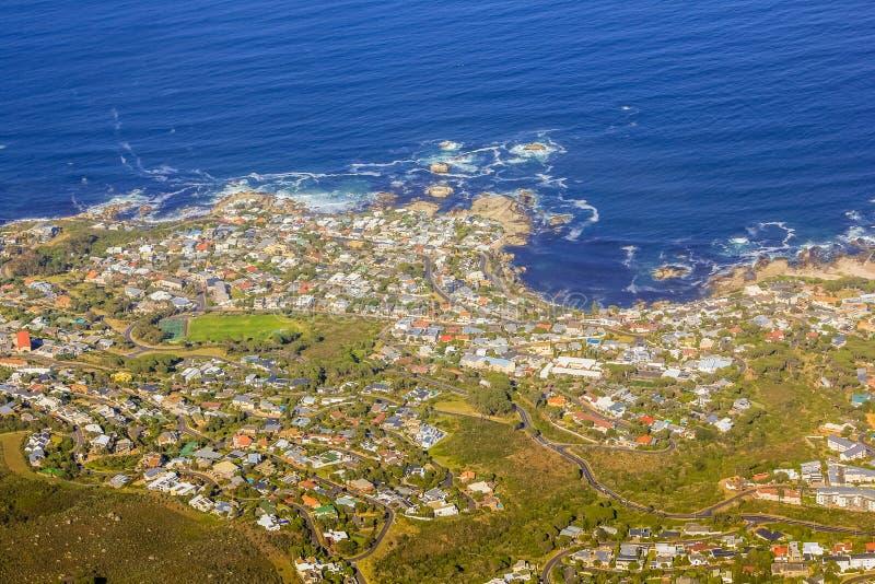 Bantry-Bucht Kapstadt stockbilder