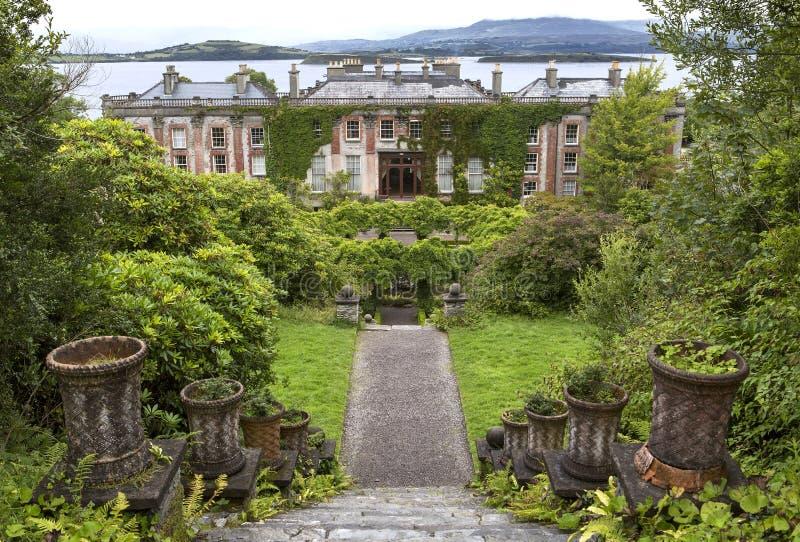 Bantry dom, okręgu administracyjnego korek, Irlandia zdjęcie royalty free