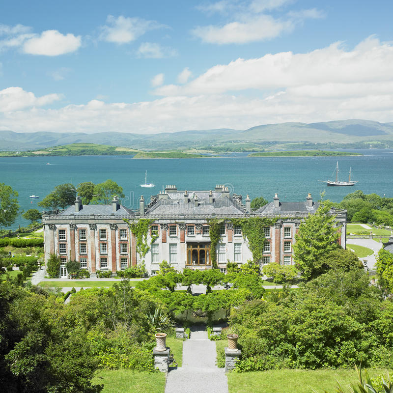 Bantry House. In County Cork, Ireland royalty free stock image