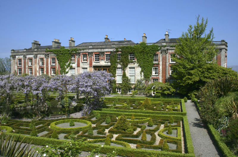 Bantry house. View on Bantry house and garden stock photography