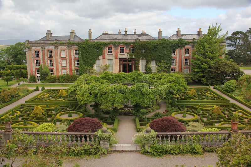 Bantry House, Ireland. Bantry House is a historic house with gardens in Bantry, County Cork, Ireland. It was constructed around 1700 royalty free stock photography