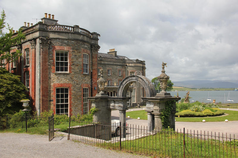 Bantry House, Ireland. Bantry House is a historic house with gardens in Bantry, County Cork, Ireland. It was constructed around 1700 royalty free stock images