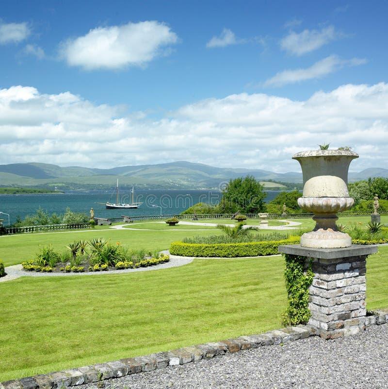 bantry trädgårds- hus royaltyfria bilder