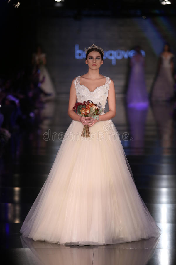 Banu Guven Catwalk photo libre de droits