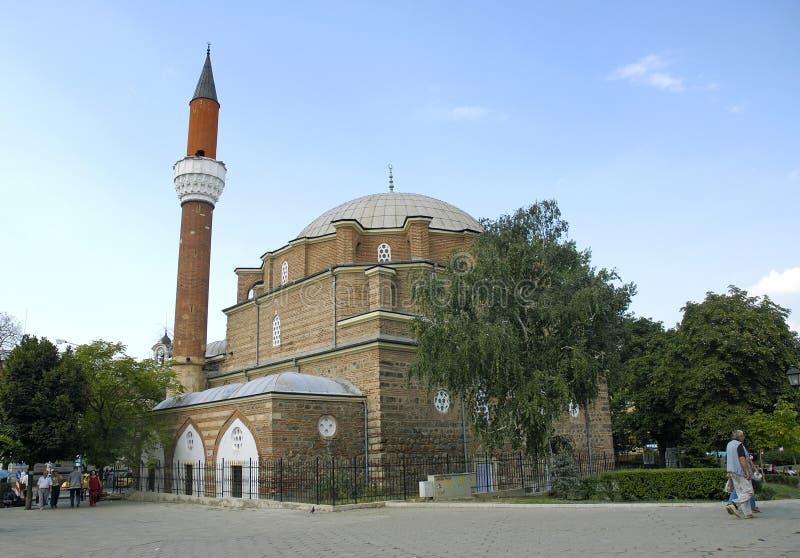 Banya bashi mosque in sofia bulgaria stock photo