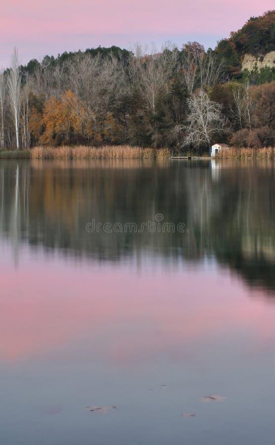 banyoles λίμνη στοκ φωτογραφίες με δικαίωμα ελεύθερης χρήσης