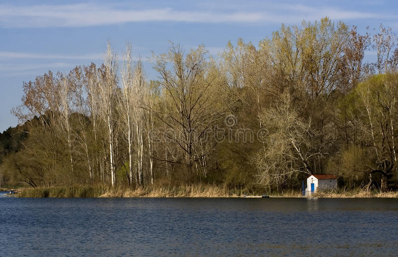 banyoles λίμνη στοκ φωτογραφία με δικαίωμα ελεύθερης χρήσης