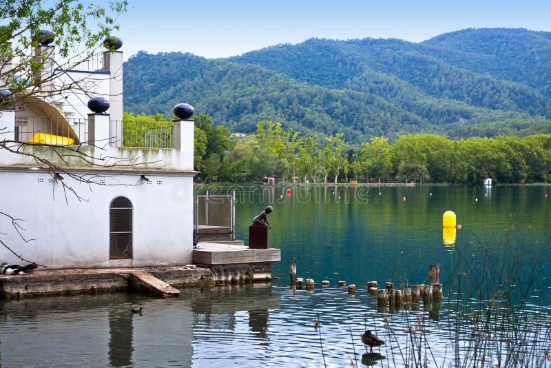 Download Banyoles Lake, Girona Province, Spain Stock Image - Image: 28857997
