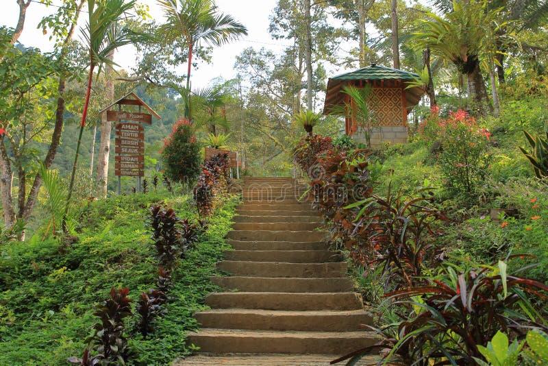 Banyu Nget, Trenggalek, East Java, Indonesien royaltyfri bild