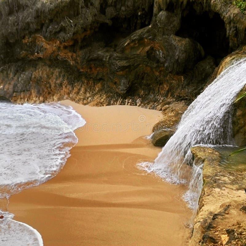 Banyutibo plaża zdjęcie stock