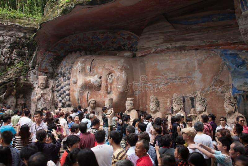 Bao Ding Mountain Circle de la vida imágenes de archivo libres de regalías