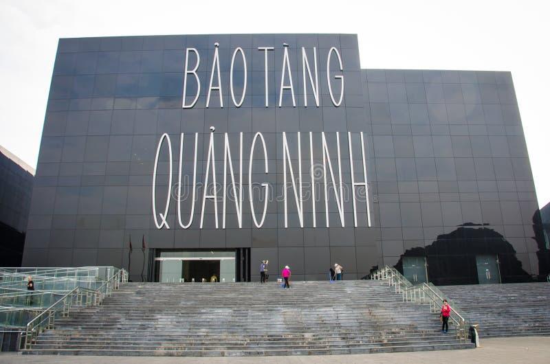 Bao Tang Quang Ninh Museum in Vietnam stock afbeelding