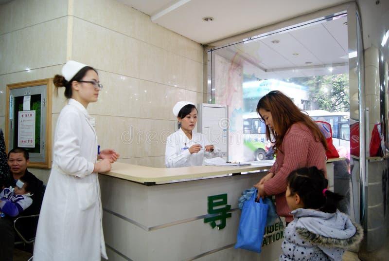 baoan opieki cen dziecko porcelanowy macierzyński Shenzhen zdjęcia stock