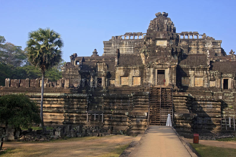 Baphuon in Angkor Thom royalty free stock photo