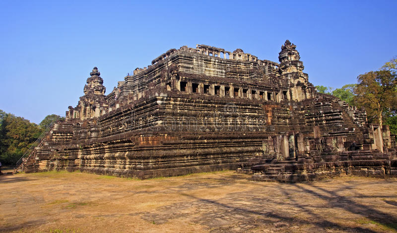Baphuon in Angkor Thom royalty free stock photography