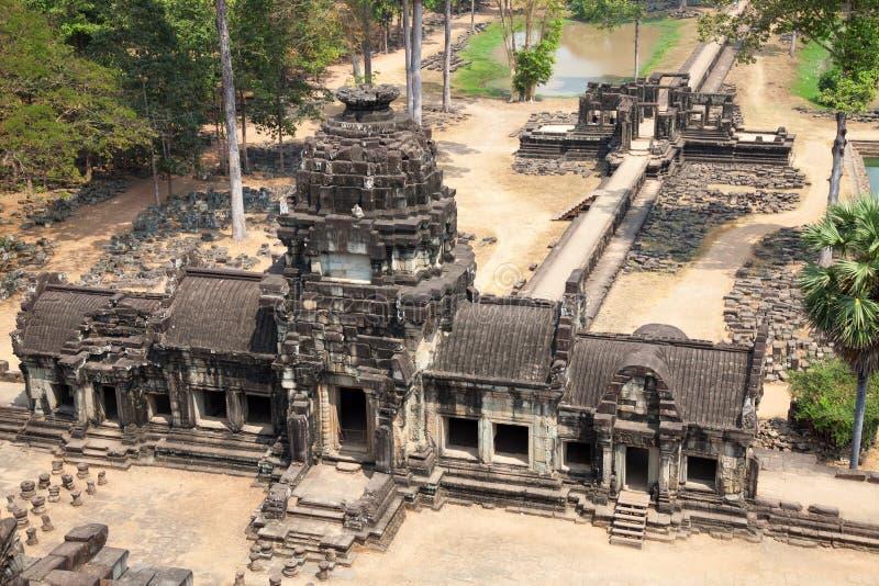 Baphuon tempel Angkor Thom Cambodia fotografering för bildbyråer