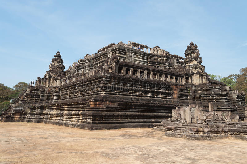 Baphuon tempel. Angkor Thom. Cambodja fotografering för bildbyråer
